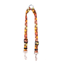 Autumn Flowers Coupler Dog Leash