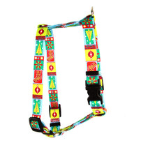 "Retro Christmas Roman Style ""H"" Dog Harness"