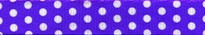 "New Purple Polka Dot Roman Style ""H"" Dog Harness"