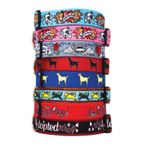 eda2e9b8b38a Pink Dog Collars, Pink Puppy Collar - Hot Dog Collars