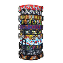 Sugar Skulls - Personalized Dog Collar