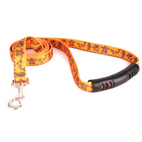 Tribal Seas Orange EZ-Grip Dog Leash