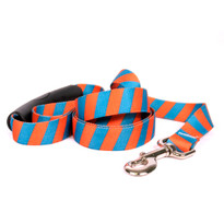 Team Spirit Orange and Teal EZ-Grip Dog Leash