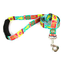 Retro Christmas EZ-Grip Dog Leash