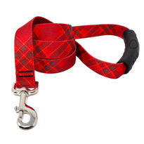 Red Kilt EZ-Grip Dog Leash