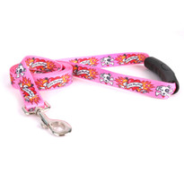 I Luv My Dog Pink EZ-Grip Dog Leash