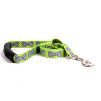 Bella Bone Green EZ-Grip Dog Leash
