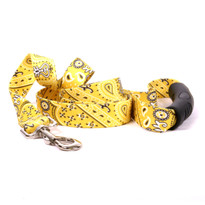Bandana Yellow EZ-Grip Dog Leash