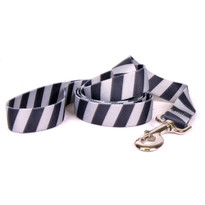 Team Spirit Black and Silver Dog Leash