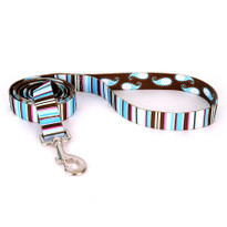 Brown Stripes Dog Leash