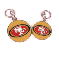 San Francisco 49ers NFL Dog Tags With Custom Engraving