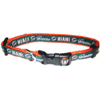 the latest 3b78a d184a Miami Dolphins Dog Collar: Clothes, Apparel, Lead & ID Tags ...