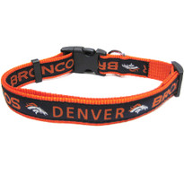 Denver Broncos Dog Collar