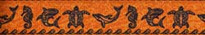 Tribal Seas Orange Waist Walker