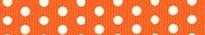 Orange Polka Dot Waist Walker