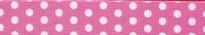 New Pink Polka Dot Waist Walker