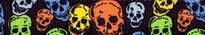 Neon Skulls Waist Walker