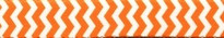 Chevron - Tangerine Waist Walker