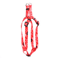 Kisses Red Step-In Dog Harness