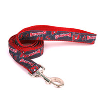 Tampa Bay Buccaneers Premium Grosgrain Dog Leash
