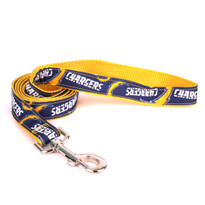 San Diego Chargers Premium Grosgrain Dog Leash