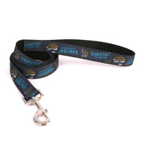 Jacksonville Jaguars Premium Grosgrain Dog Leash