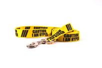 Caution I Am Hyper Dog Leash