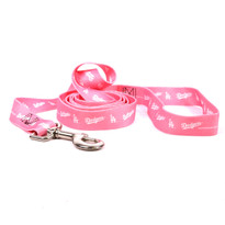 Los Angeles Dodgers PINK Dog LEASH