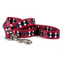 Arizona Cardinals Argyle Dog Leash
