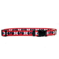 Atlanta Falcons Argyle Dog Collar