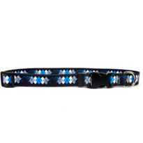 Carolina Panthers Argyle Dog Collar