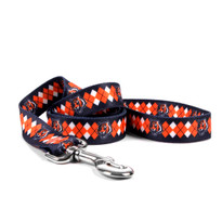 Cincinnati Bengals Argyle Dog Leash