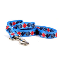 Tennessee Titans Argyle Dog Leash