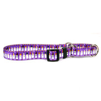 Ghost Party Martingale Dog Collar