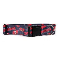 Tampa Bay Buccaneers 2 Inch Wide Dog Collar