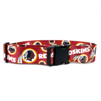 Washington Redskins 2 Inch Wide Dog Collar