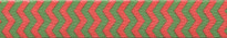 Christmas Chevron Stripe Waist Walker
