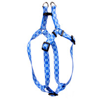 Hanukkah Stars Step-In Dog Harness