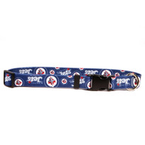 Winnipeg Jets Dog Collar