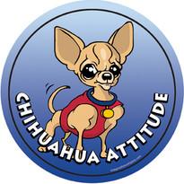 Chihuahua Attitude Magnet