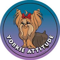 Yorkie Attitude Magnet