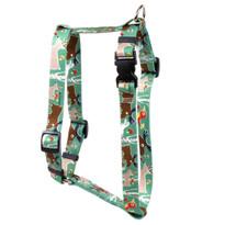 "Woodland Friends Roman Style ""H"" Dog Harness"