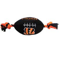 Cincinnati Bengals NFL Squeaker Football Toy