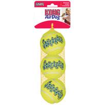 Air Kong Squeaker Tennis BallsToy - 3pk