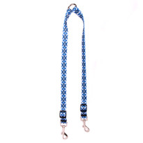 Aztec Blue Coupler Dog Leash