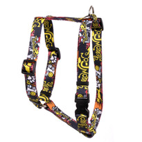 "Graffiti Dog Roman Style ""H"" Dog Harness"