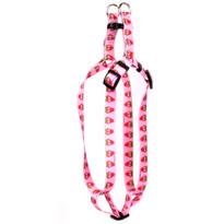 Sweet Strawberries Step-In Dog Harness