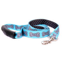 Bella Bone Blue Uptown Dog Leash