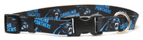 Carolina Panthers Logo Dog Collar