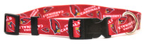 Arizona Cardinals Logo Dog Collar